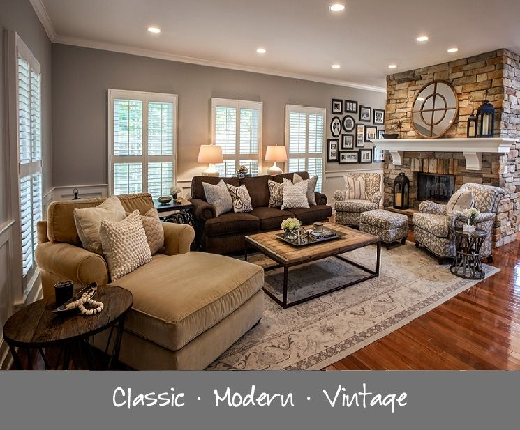 Best Love The Mix Of Brown Tan Gray Spacious Living Room 400 x 300