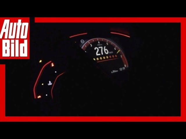 Honda Civic Type R (2017) U2013 Top Speed Im Civic Type R