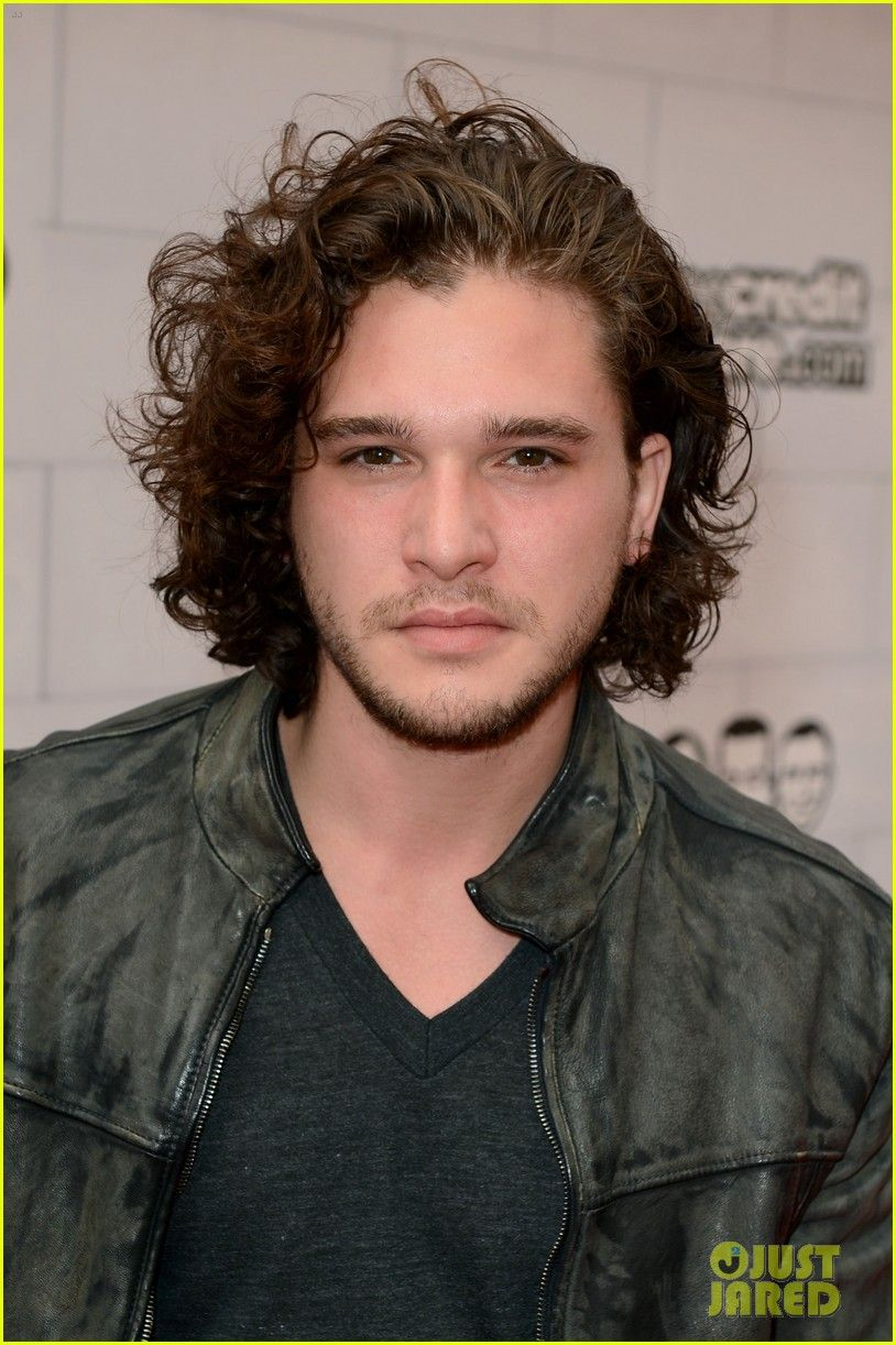 Kit Harrington Mmm Love Jon Snow Long Hair Styles Men Cool Hairstyles For Men Curly Hair Men