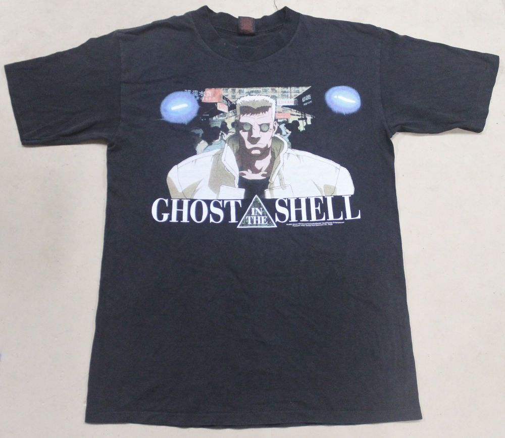 Vintage Ghost In The Shell Japan Anime Manga Movie Cartoon Akira Comic T Shirt Akira Comics Shirts Akira