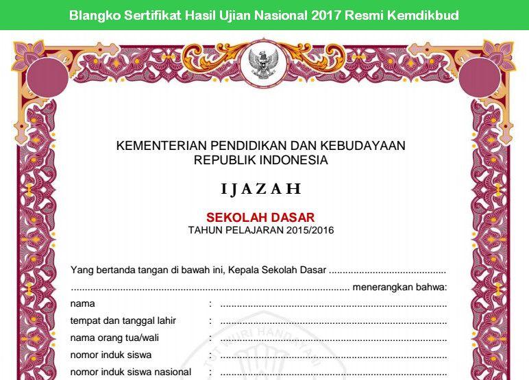 Contoh Format Blangko Shun 2017 Balitbang Kemdikbud Termasuk Referensi Blangko Shun Ijazah Shun Yang Digunakan Sebagai Salah Satu Ruju Website Shun Resources
