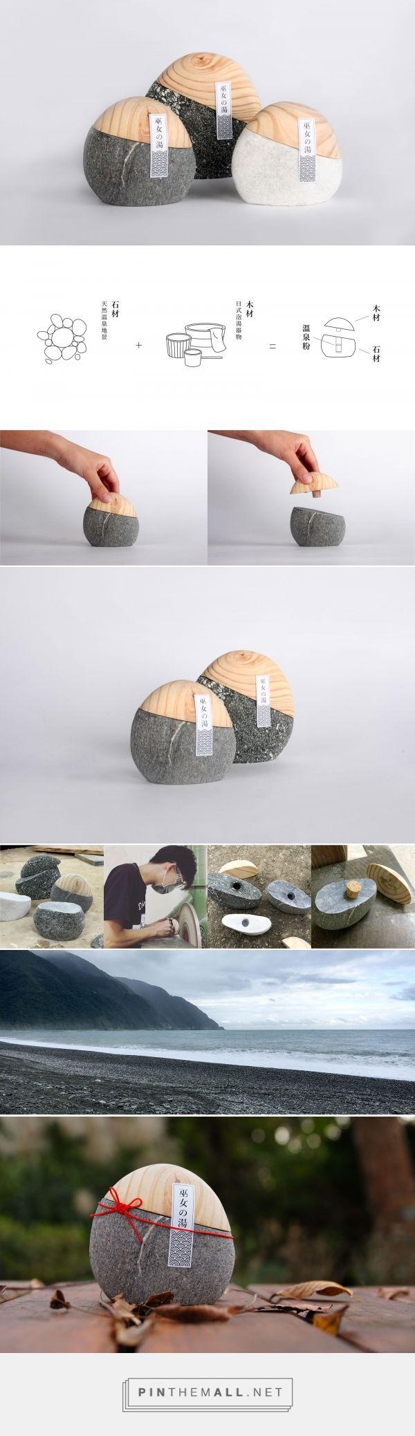 이런것도 팔리는구나... Miko No Yu hot spring powder packaging design concept by Chiun Hau You - http://www.packagingoftheworld.com/2017/01/miko-no-yu-bath-powder.html