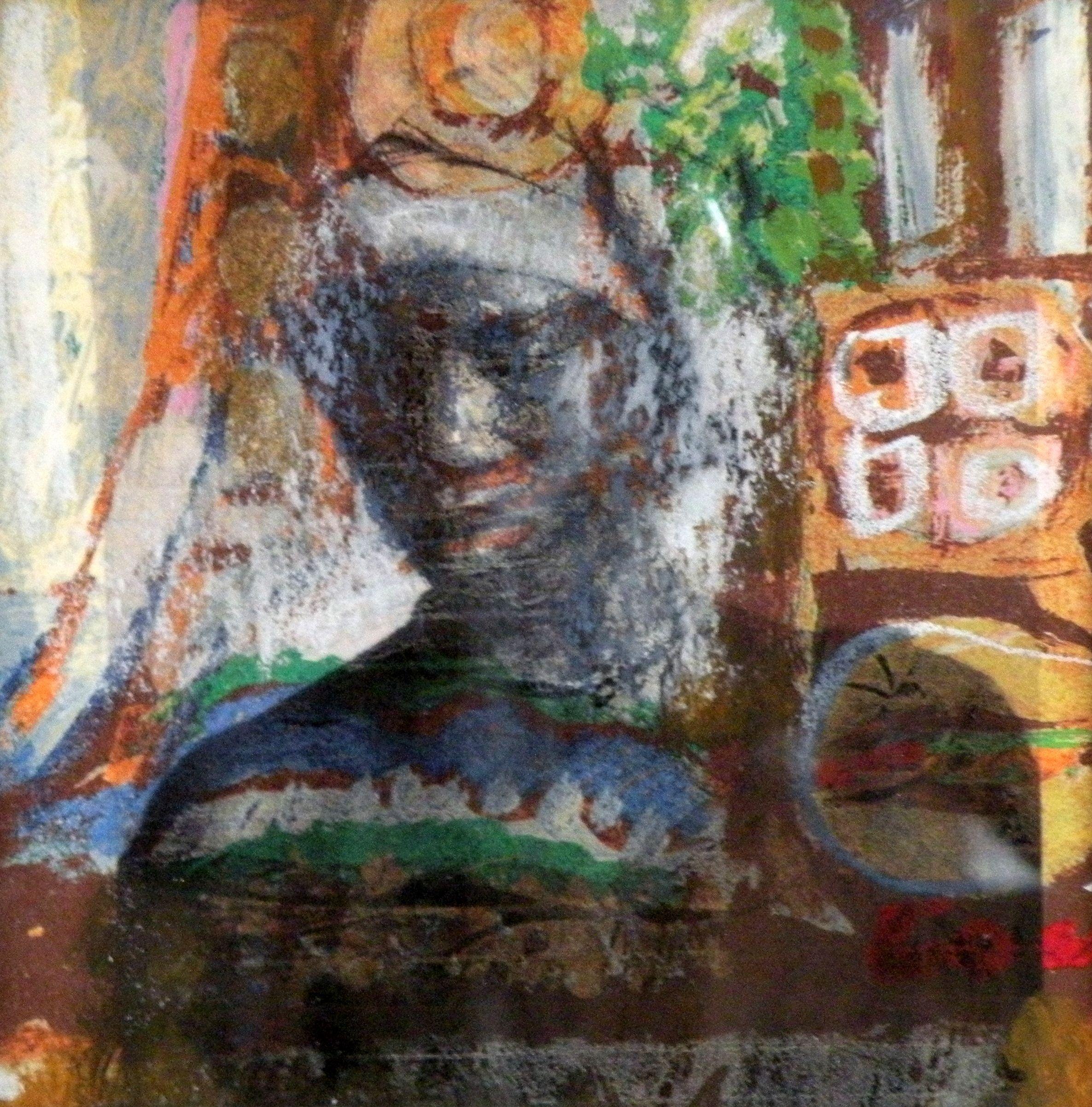 Henk van Hemert - Vrouw in Afrika