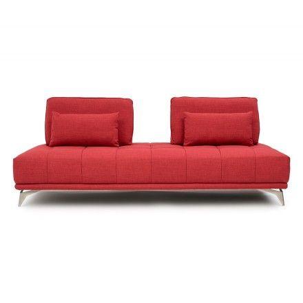 Canape Lit 1 Place En Tissu Wilkin Salon Furniture Couch