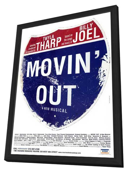 From Kim Elizabeth: I've been on the hunt for this white Movin' Out poster for 8 years....maybe this will be my lucky year at the flea market? @BCEFA #BwayFleaSweeps