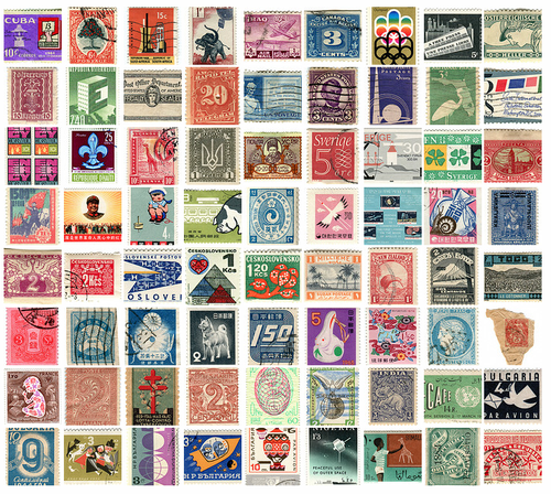 a great stamp collection Postage stamp collecting