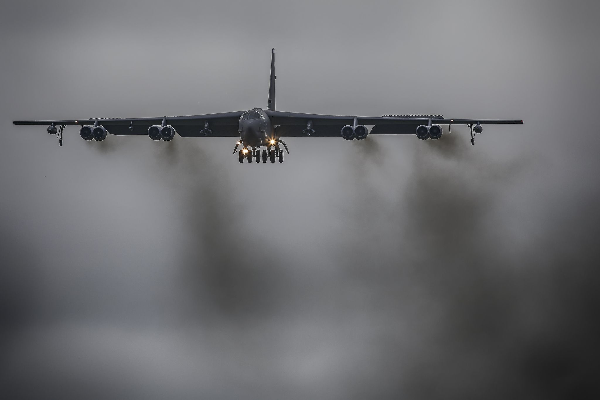 Boeing B52H Stratofortress United states air force, B