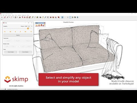 Simplify Your Sketchup Model Using Ultra Fast Import And Polygon