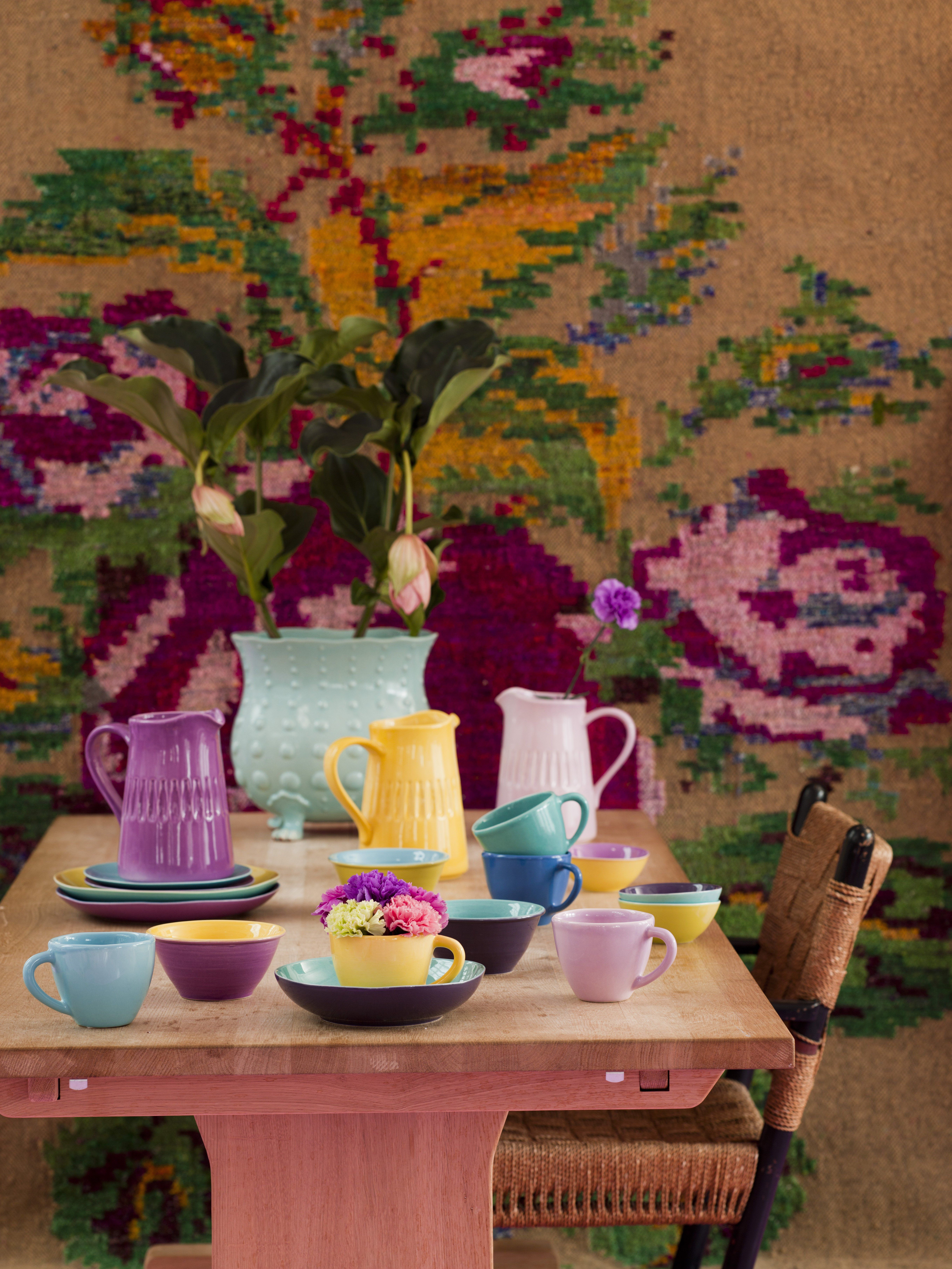 RICE Ceramics Tableware from Portogal