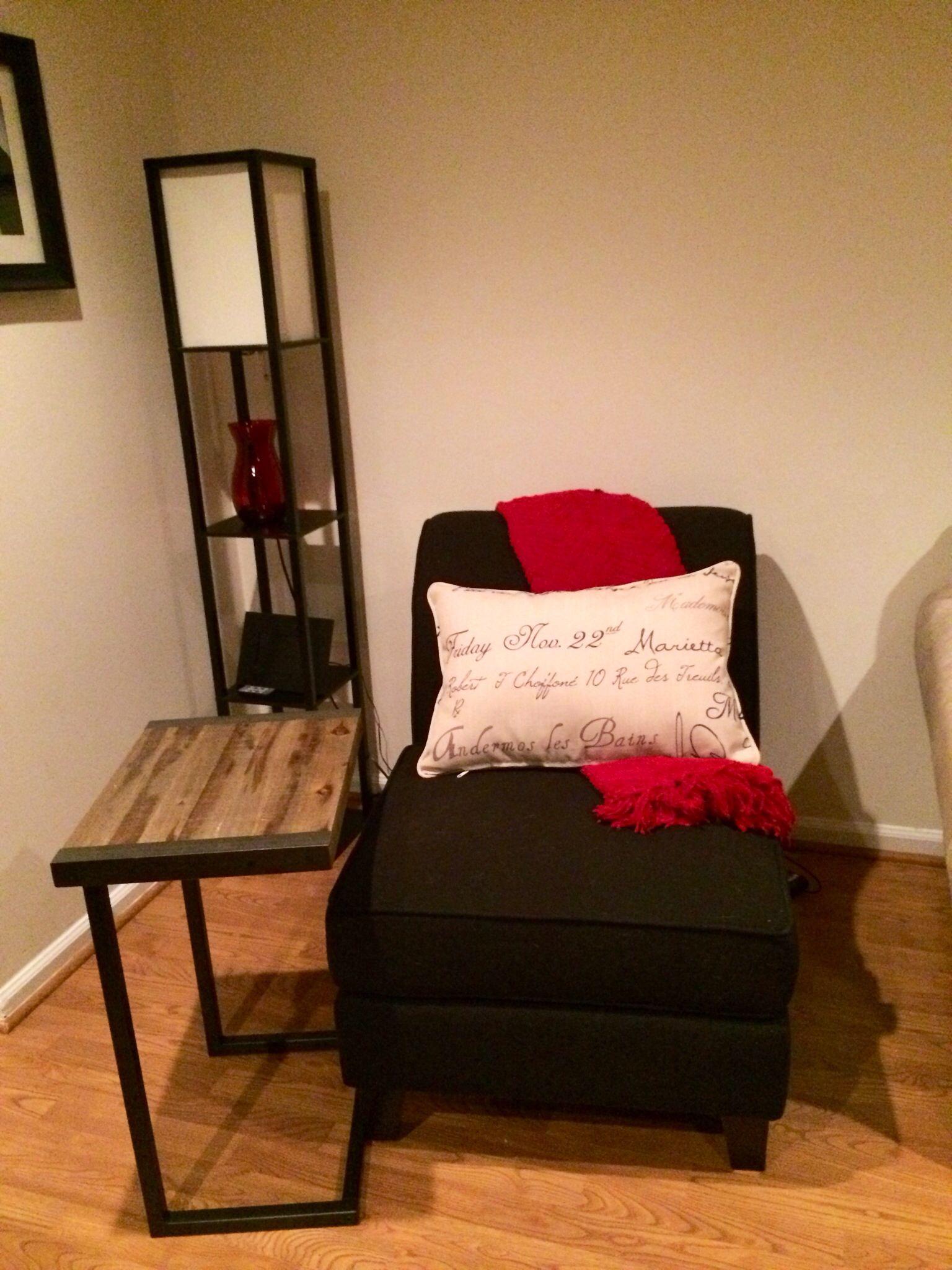 Black slipper chair Dream Home Pinterest