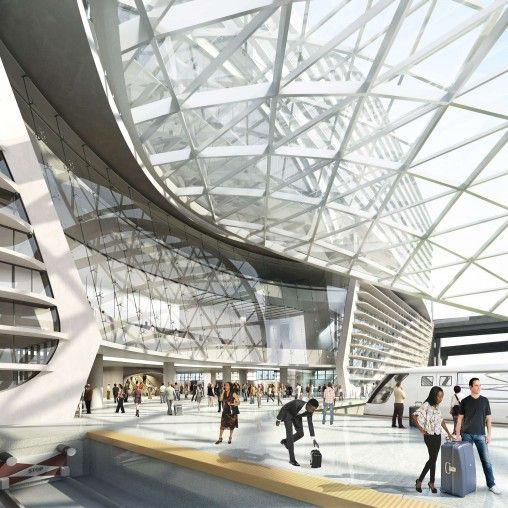 Denver . The Airport Hotel And Transit Center Program Aims
