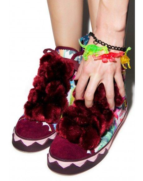 a054b9141247 Irregular Choice Candy Damsel Sneakers