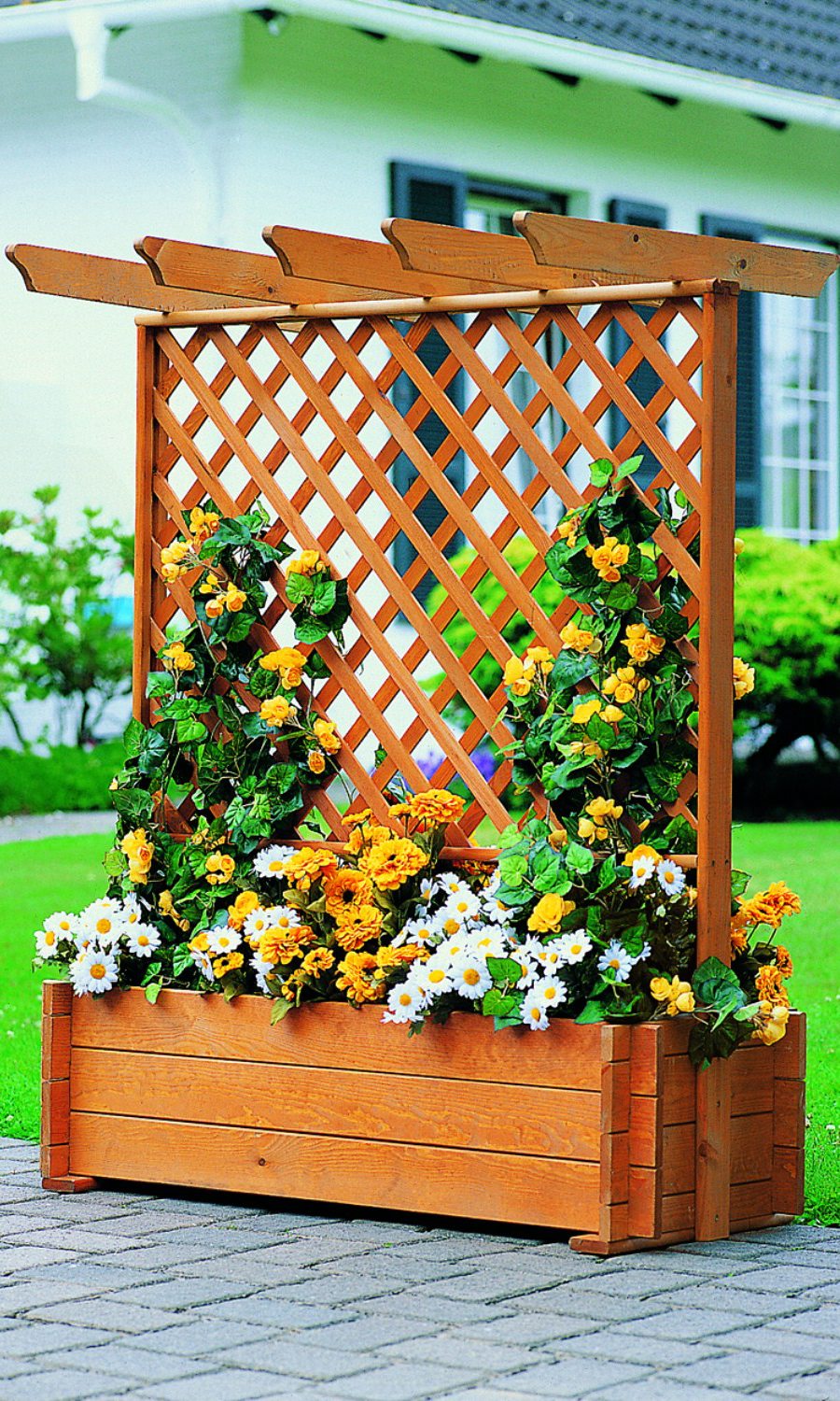 Romantica Wooden Planter Box In 2019 Garden And Landscaping