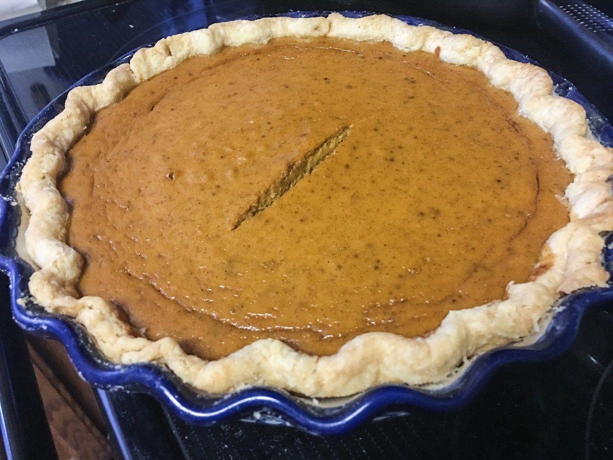 Marie Callender S Pumpkin Pie Recipe Pumpkin Pie Recipes Recipes Pie Recipes