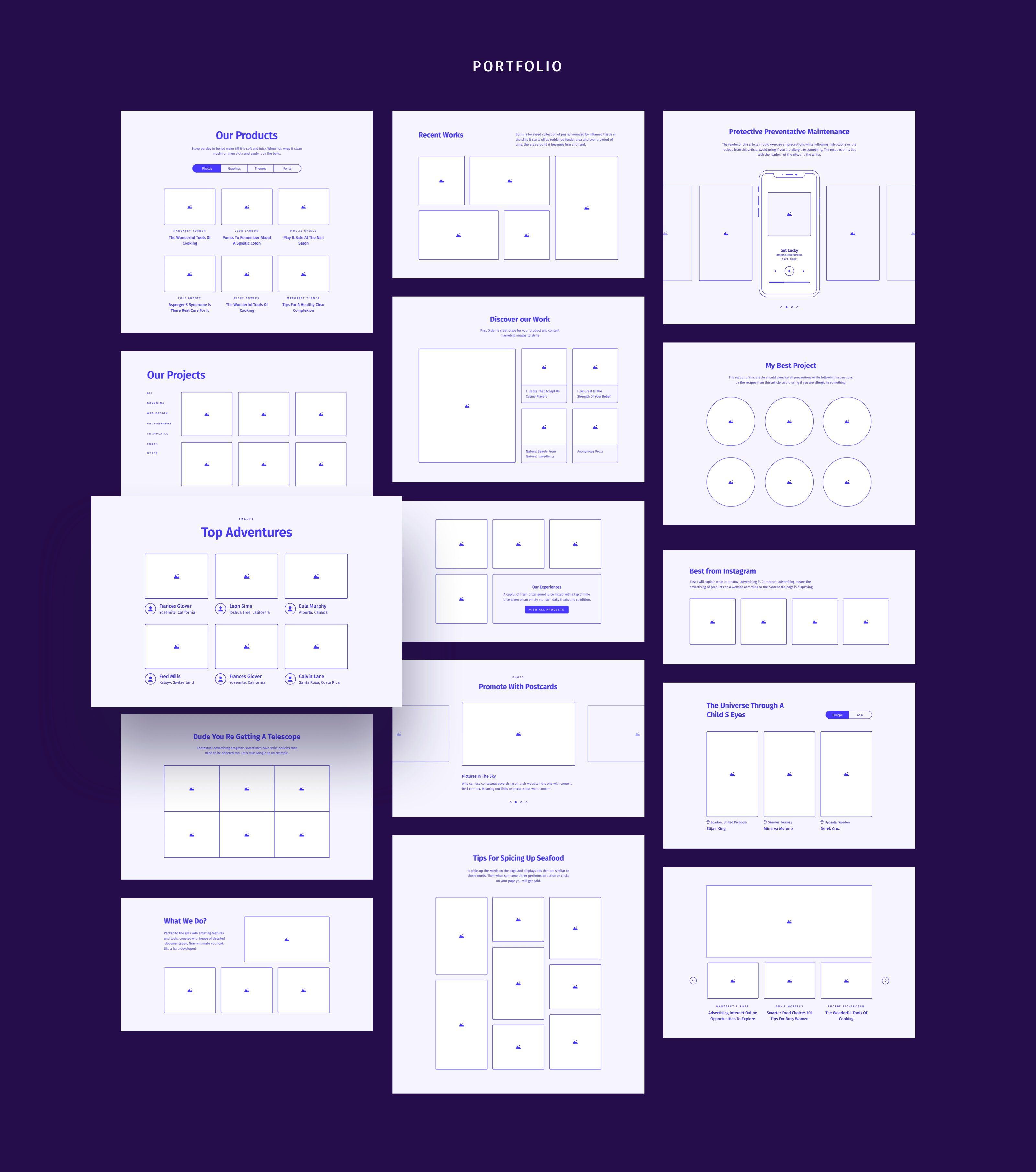 Download Mockup Wireframe Yellowimages