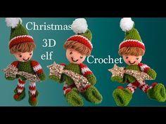 Como tejer a Crochet paso a paso duende elfo mágico en 3D tejido tallermanualperu