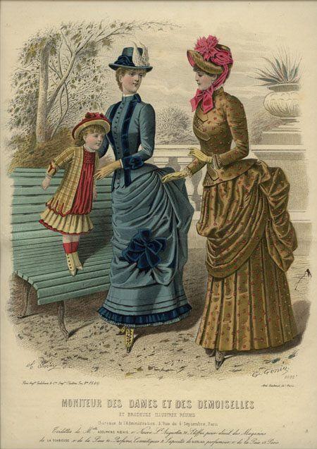 Moniteur des Dames et des Demoiselles 1884
