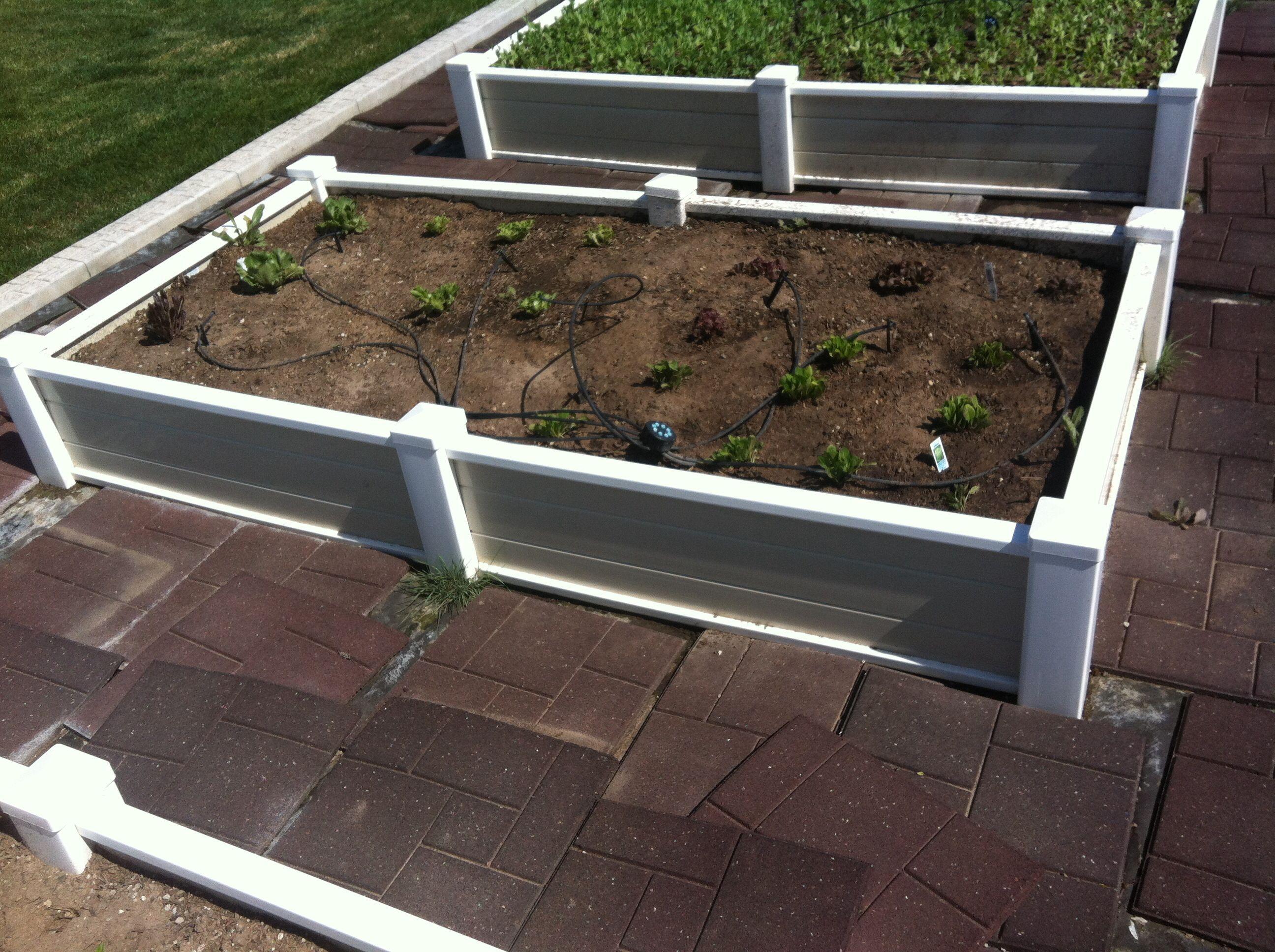 Vinyl Raised Bed Garden Planters Vegetable Garden Raised Beds Raised Garden Beds Garden Beds