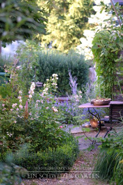 Problemfall Schatten - Ein Schweizer Garten