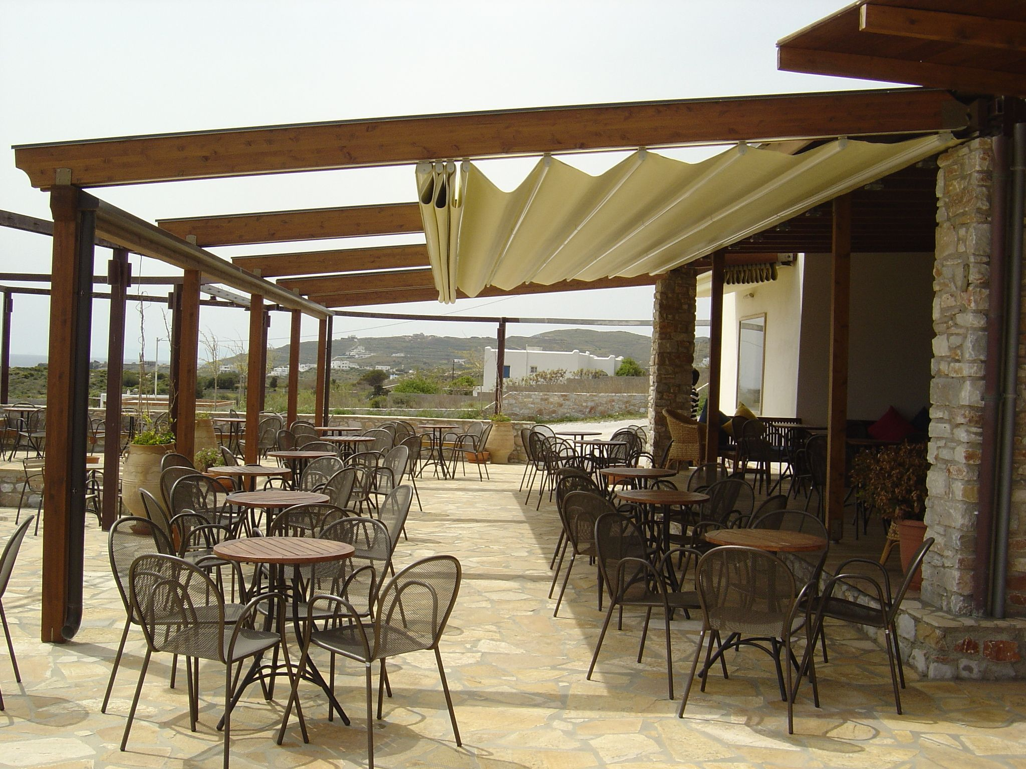 Image result for outdoor awning covered restaurants ...