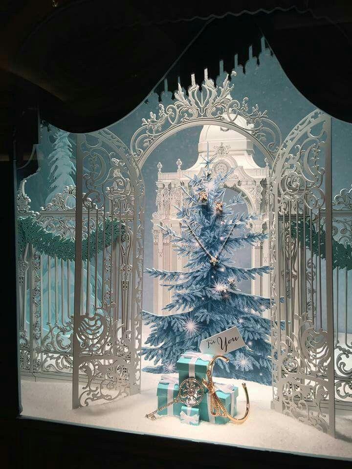 Tiffany & Co. | Escaparate navideño, Escaparate navidad y