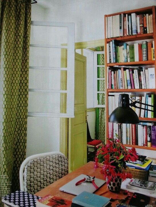 Chartreuse Greens And White Walls By Garden Designer
