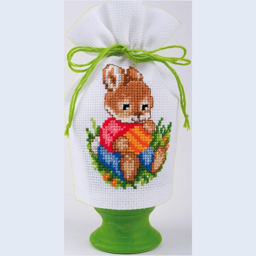 Egg Cosy 2 - counted cross stitch kit Vervaco