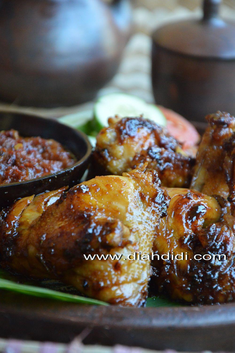 Ayam Bakar Bumbu Bacem Khas Yogya..Yummy..! | Resep ...