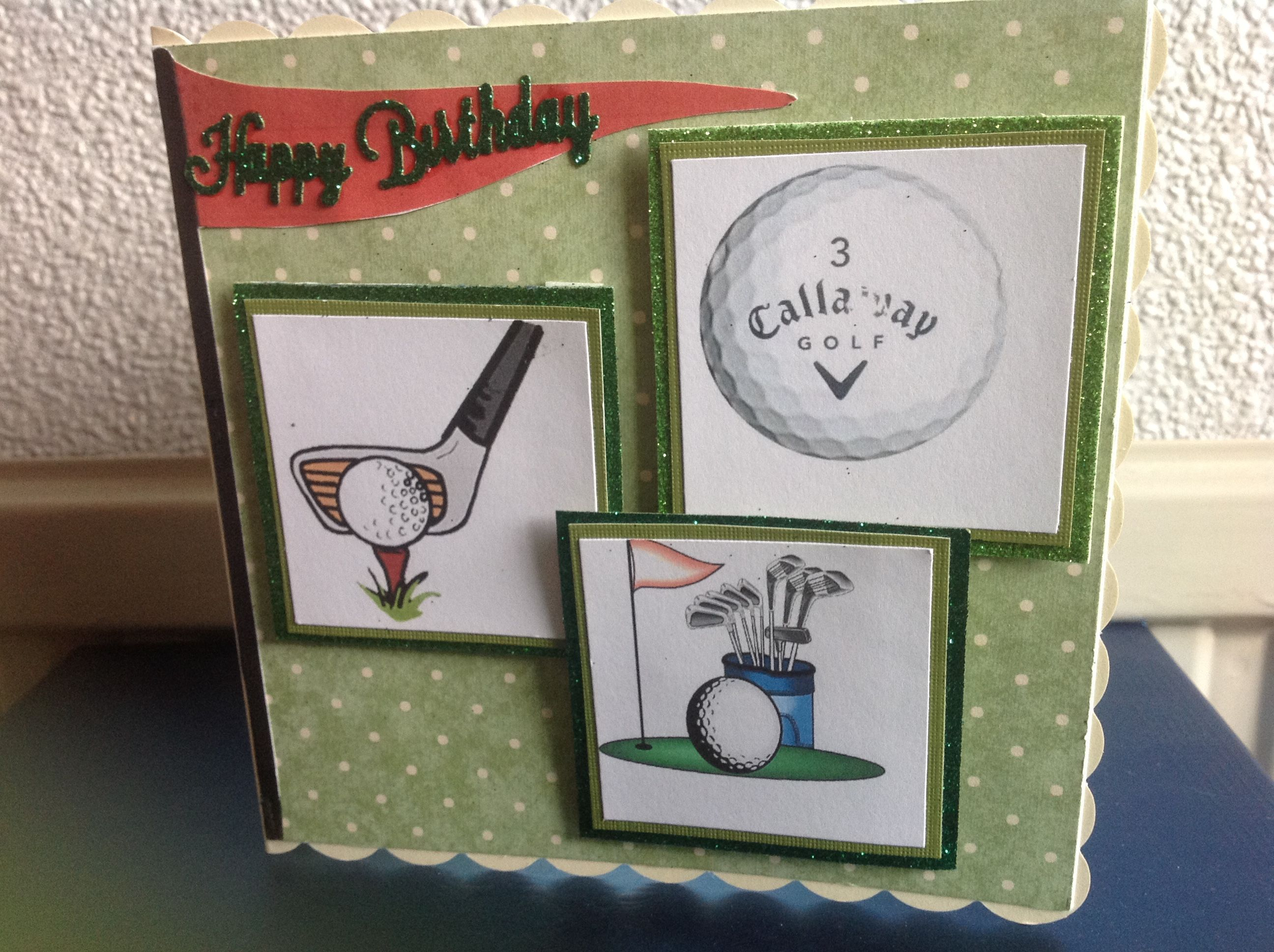 Golf Birthday Card Golf Pinterest Golf Birthday Cards Golf