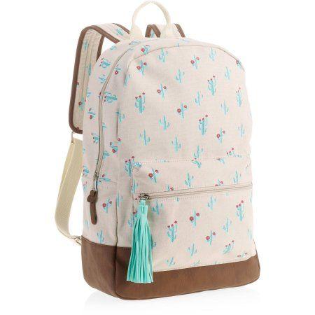 No Boundaries Women s Tan Cactus Backpack, Beige   Products ... 770225e4e3