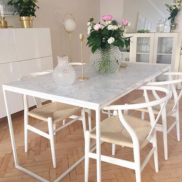 Bildresultat för marmor matbord Vardagsrum Pinterest Kök, Matsal och Heminredning