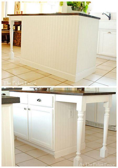Kitchen Island Makeover Tutorial Kitchen Island Makeover Kitchen Island Plans Kitchen Decor