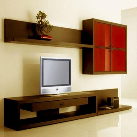 Modern Lcd Wall Unit Desiign   Furniture Designs   Al Habib Panel Doors