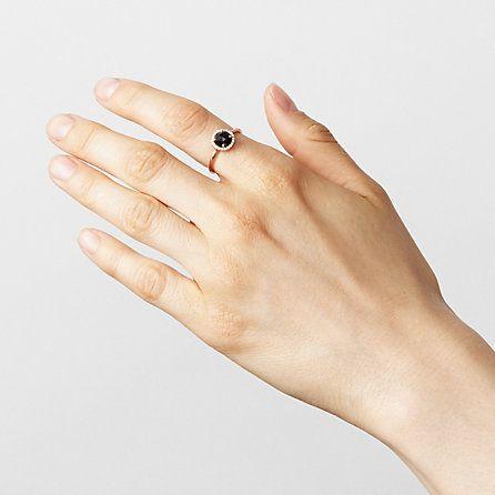 Blanca Monros Gomez Rosecut Pave Diamond Ring | Steven Alan