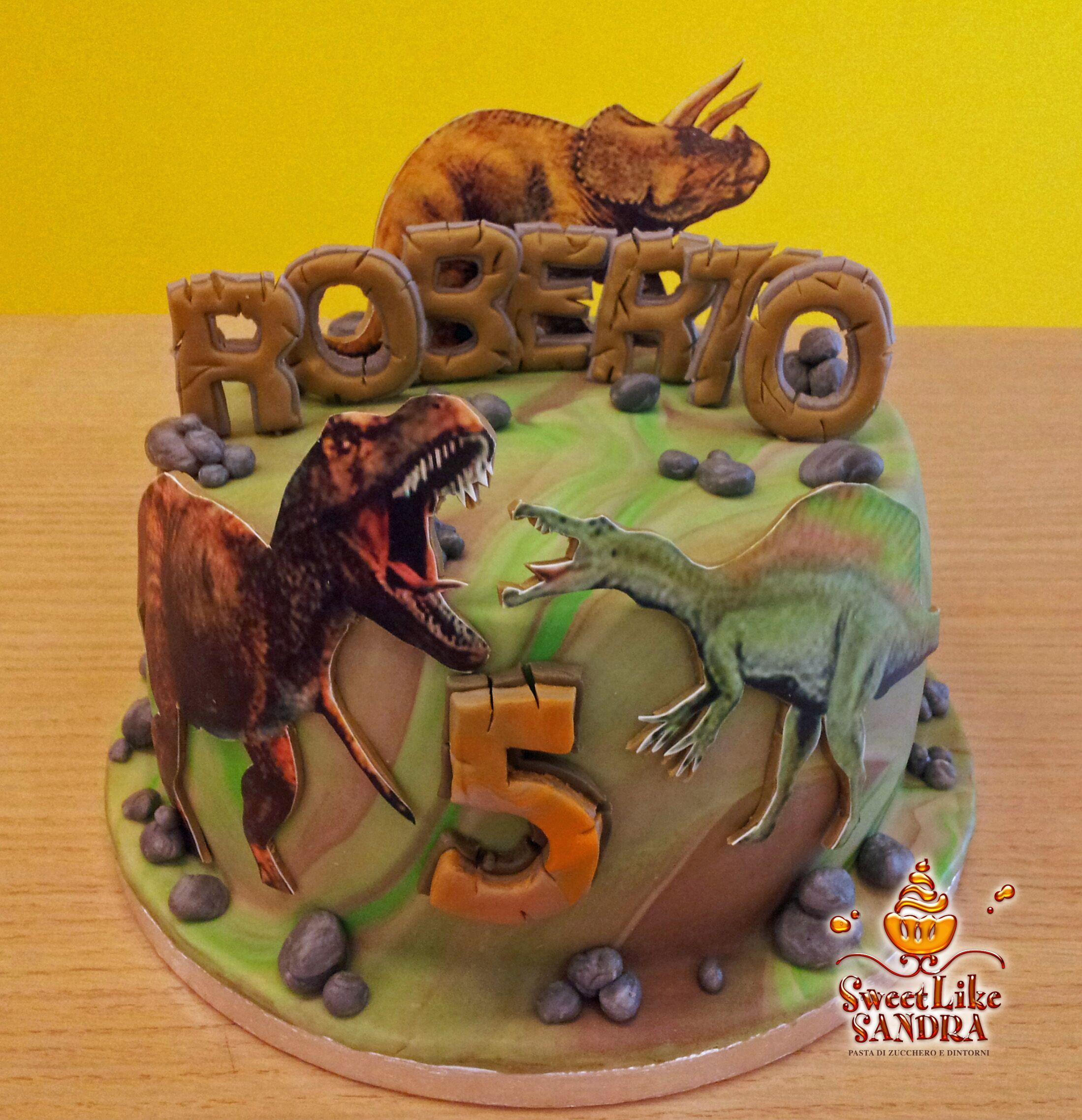 Torta Dinosauro - Dino's Cake