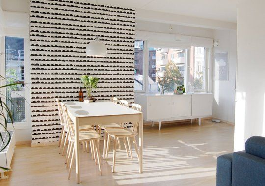 This Norwegian Home Is The Very Definition Of Light & Airy Simple Dining Room Definition Decorating Design