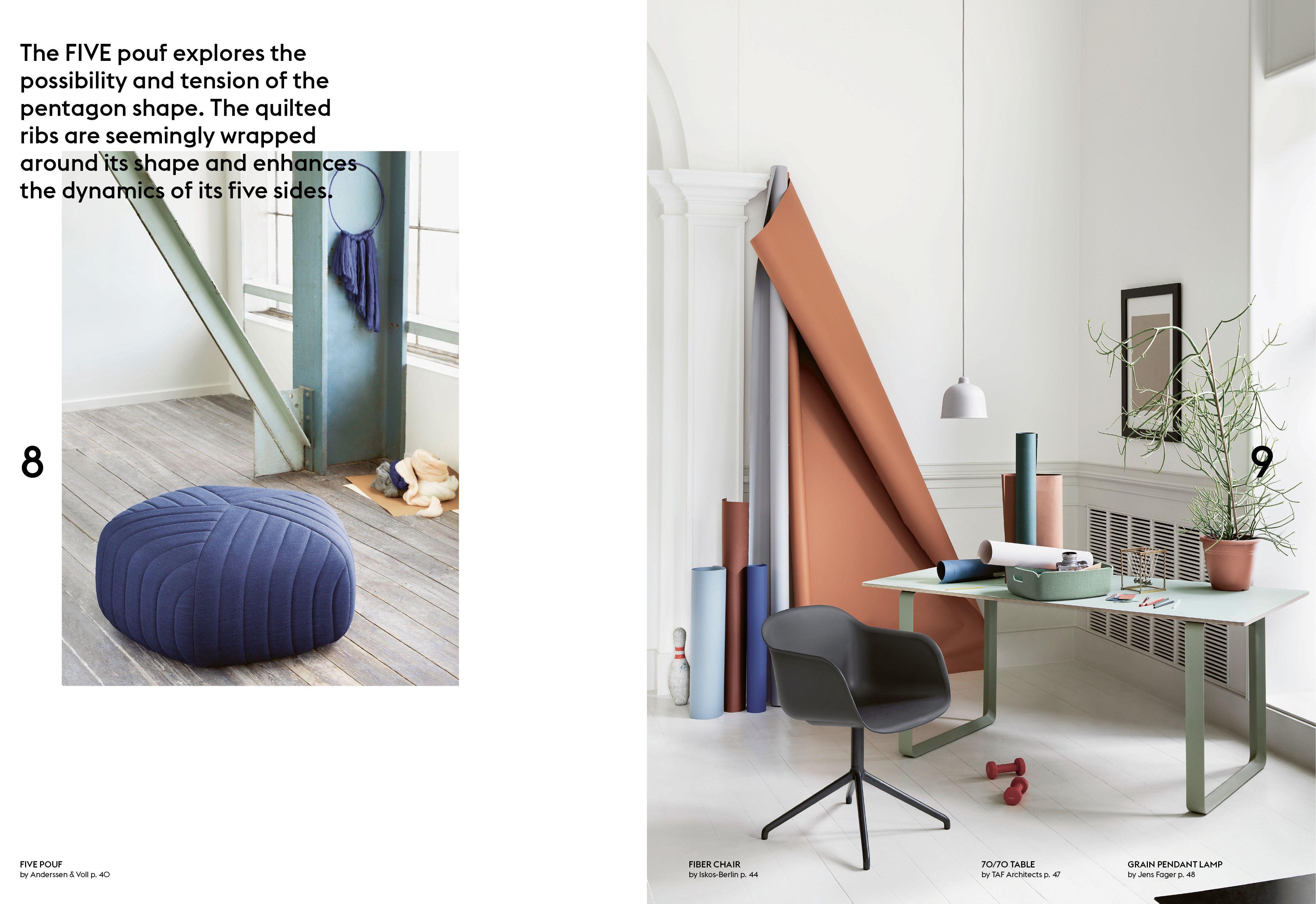 Muuto Catalogue  Autumn 2015 #Muuto #Muutodesign #Artdirection #Layout #Graphic