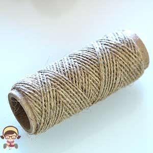 Cuerda de Caamo X40gr Cuerda camo rstica Fiber Wool Yarn