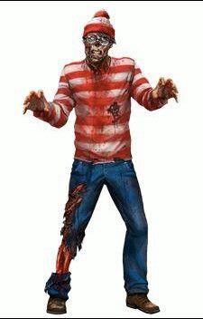 Where's Zombie Waldo at?