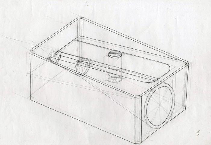 Dibujo Constructivo Din A3 Constructivo Perspectiva