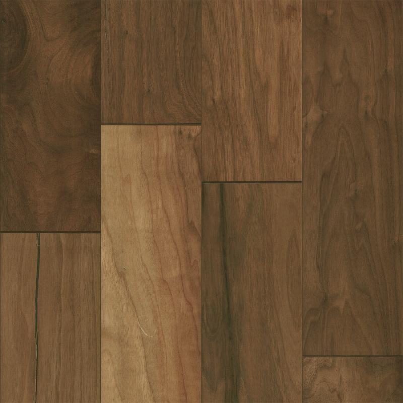 Mohawk Brookedale Walnut Natural Hardwood Flooring Hardwood Hardwood Floors Engineered Hardwood