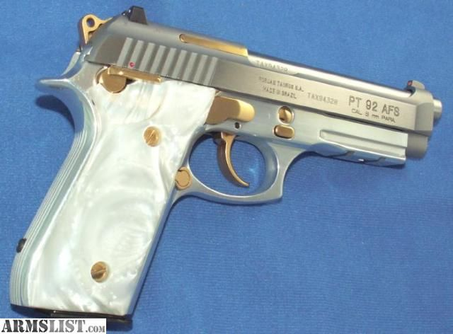 ARMSLIST - For Sale: Taurus -- PT 92 9MM STAINLESS PISTOL