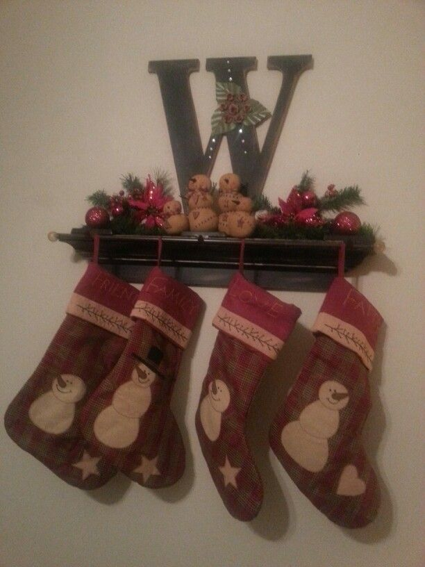 Weihnachtsstrümpfe & -socken Not afraid Christmas Pattern Snowflakes Stars and Stockings Christmas Hanging Stocking,Assorted Santa Gift Socks Hanging Accessories for Xmas Tree Decoration Only Printed One Side Wohnaccessoires & Deko