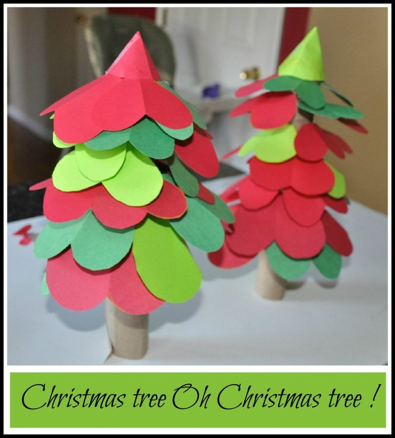 Christmas Activity Tree For Kids