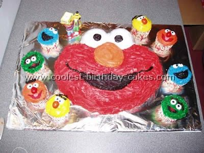 Coolest Sesame Street Birthday Cake Photos and Howto Tips Sesame