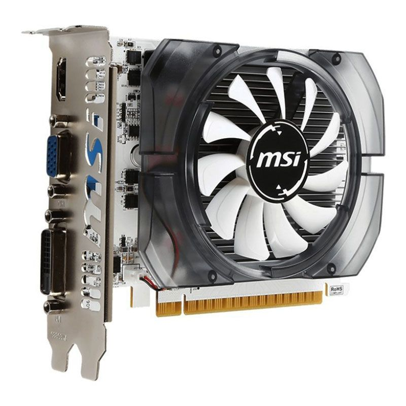 MSI NVIDIA Geforce GT 730 2GB DDR3 PCI-E Graphics Video Card