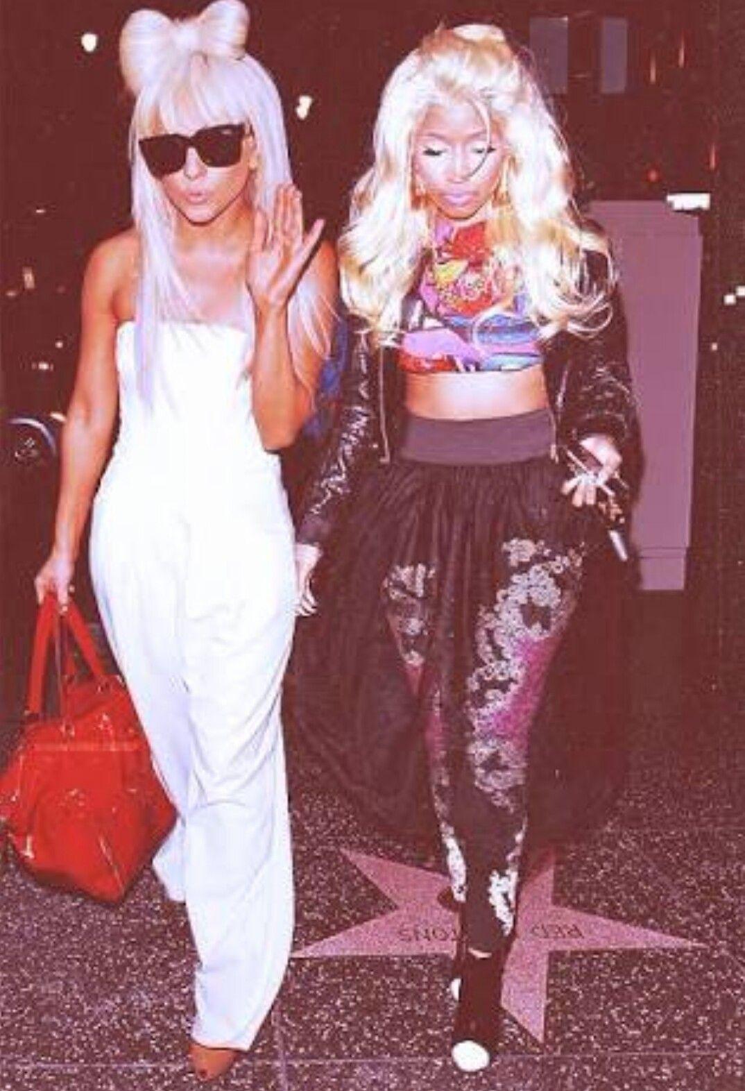 74c243790681 Lady Gaga and Nicki Minaj
