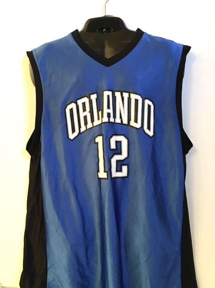 Dwight Howard 12 Orlando Magic Blue Basketball Jersey Sz