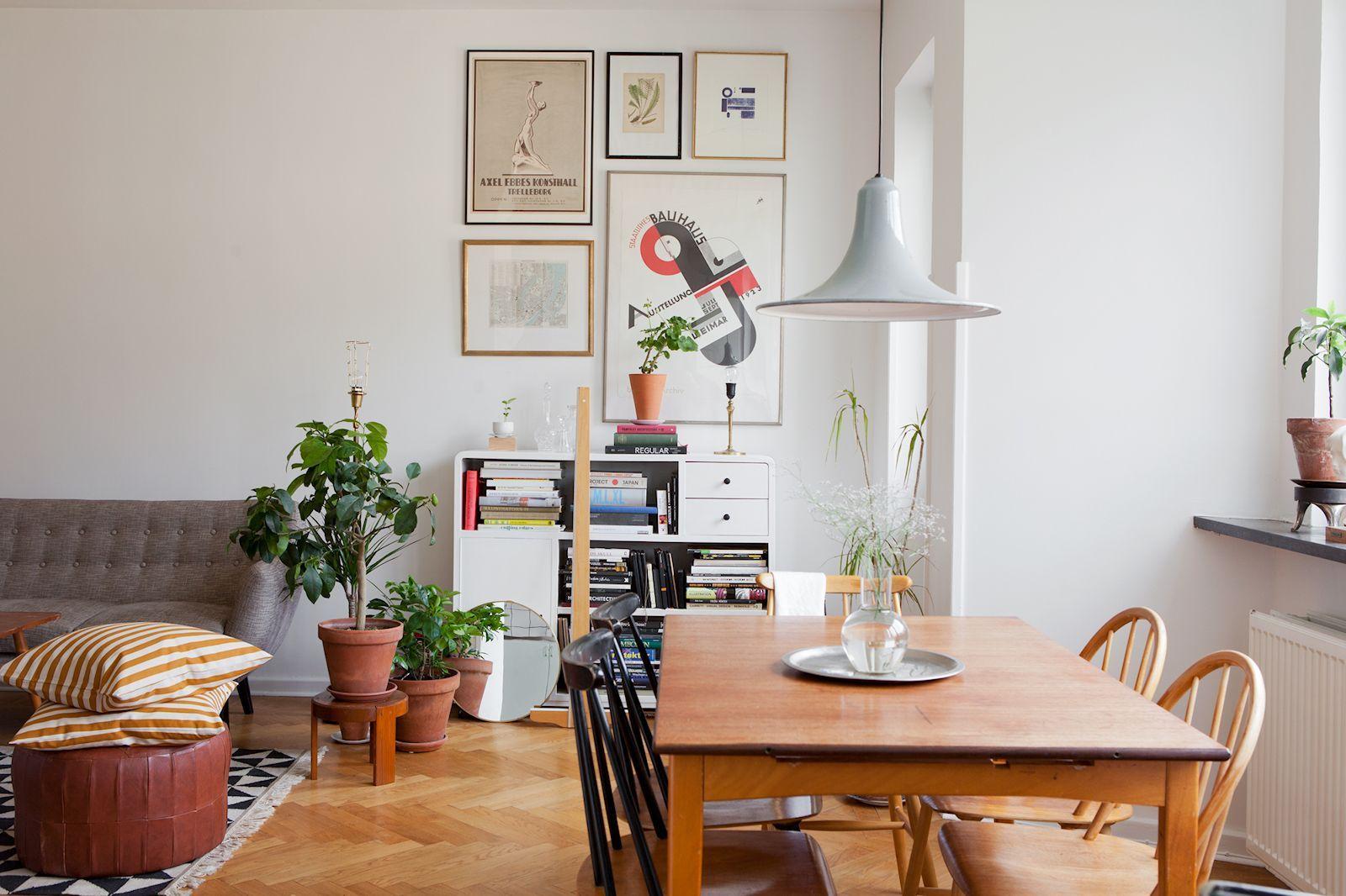 Departamento De 2 Ambientes En Estilo Nordico Y Vintage Estilos Deco Home Home Decor Living Dining Room