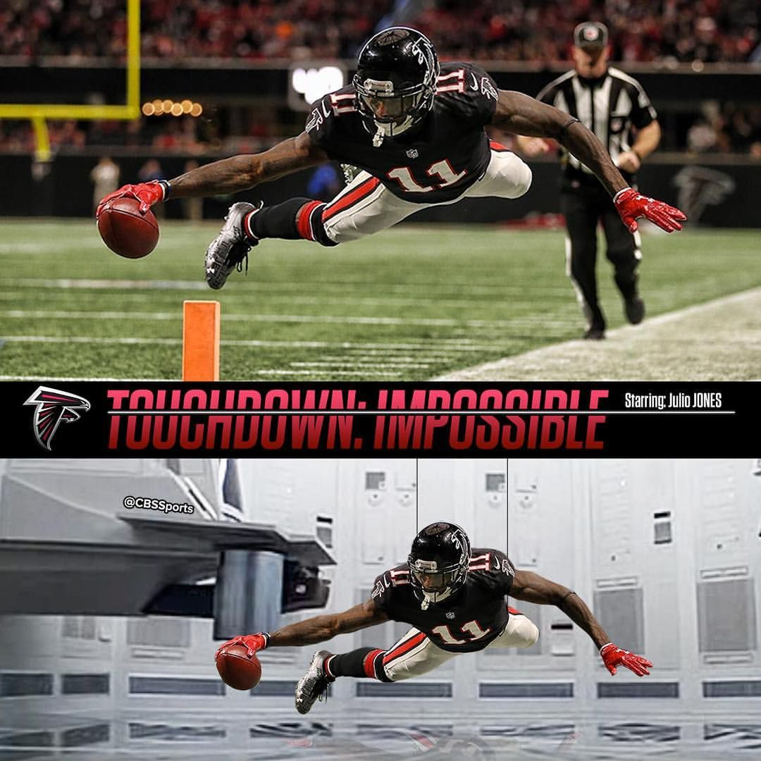 8 081 Likes 20 Comments Cbs Sports Cbssports On Instagram The Julio Breakout Is Coming To A Theater Near Yo Falcons Football Cbs Sports Atlanta Falcons